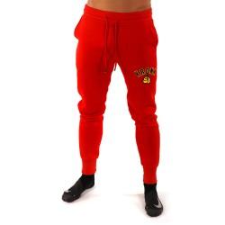 Kronk Applique Jogginghose Red
