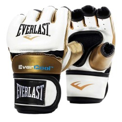 Everlast Everstrike Training Glove White Gold