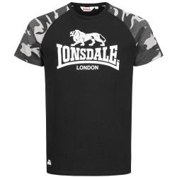 Lonsdale T-Shirt Kensington Black Camo