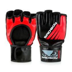 Bad Boy Training Series Impact MMA Gloves Without Thumb Black Re