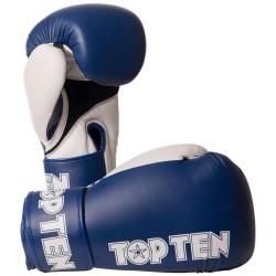 Top Ten XLP Boxhandschuhe Blau Weiss