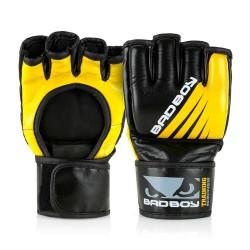 Bad Boy Training Series Impact MMA Gloves Without Thumb Black Ye