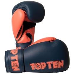 Top Ten XLP Boxhandschuhe Grau Orange