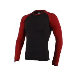 Abverkauf Berserk Long Sleeve Shirt schwarz rot L