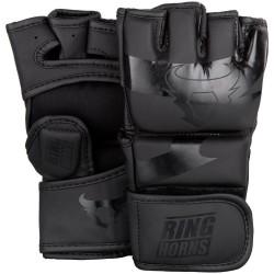 Ringhorns Charger MMA Gloves Black Black
