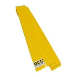 Kwon Clubline Softgürtel 4cm Gelb