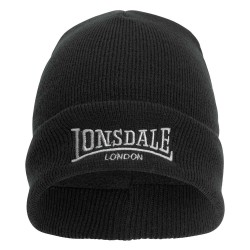 Lonsdale Beanie Dundee Black