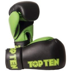 Top Ten XLP Boxhandschuhe Schwarz Grün