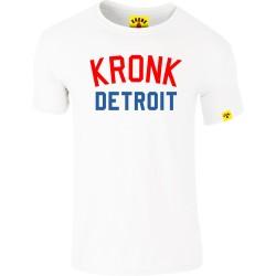 Kronk Iconic Detroit Slim Fit T-Shirt White