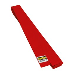 Kwon Clubline Softgürtel 4cm rot