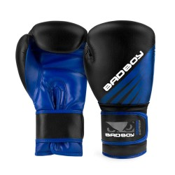 Bad Boy Training Series Impact Boxing Gloves Black Blue