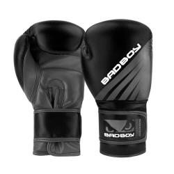 Bad Boy Training Series Impact Boxing Gloves Black Grey