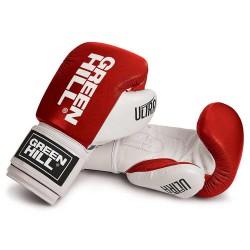 Green Hill Ultra Boxhandschuhe Rot Weiss