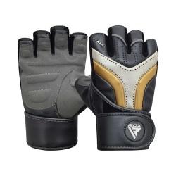 RDX Gym Handschuh Aura T-17 golden