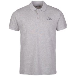 Abverkauf Kappa Polo Shirt PELEOT grau melange