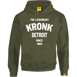 Kronk Legendary Detroit Since 69 Hoodie Military Green
