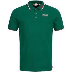 Lonsdale Lion Herren Slim Fit Poloshirt Bottle Green