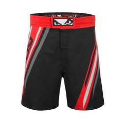 Bad Boy Pro Series Advanced MMA Shorts Black Red