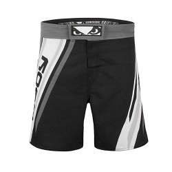 Bad Boy Pro Series Advanced MMA Shorts Black White