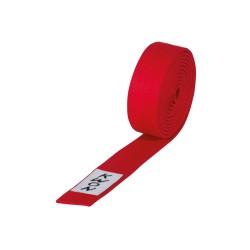 Kwon Budogürtel 4cm rot
