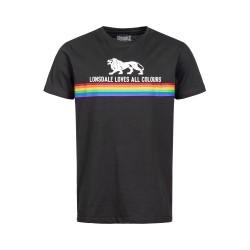 Lonsdale Nelson Herren T-Shirt Black