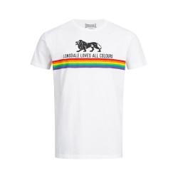 Lonsdale Nelson Herren T-Shirt White