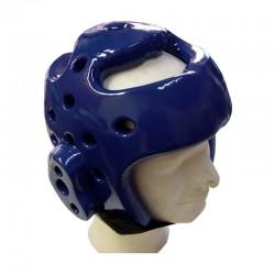 Taekwondo Kopfschutz Blau Schaumstoff