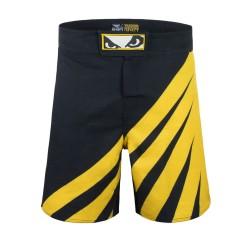 Bad Boy Training Series Impact MMA Shorts Black Yellow