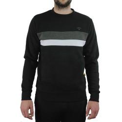 Kronk Stripe Sweatshirt Black