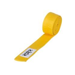 Kwon Budogürtel kurz 4cm gelb