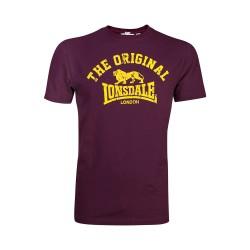 Lonsdale Original Herren T-Shirt Vintage Oxblood