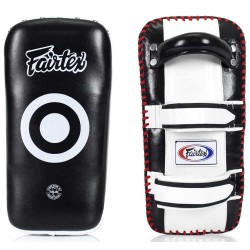 Fairtex Thai Kick Pads KPLC2 Curve Shape Leder Paar