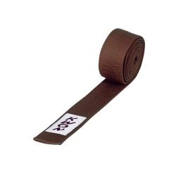 Kwon Budogürtel kurz 4cm braun