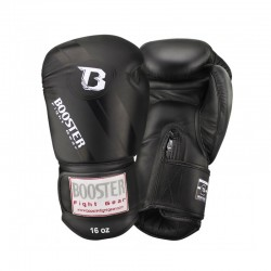 Booster Boxing Gloves BGL 1 V3 Black  Foil Leather