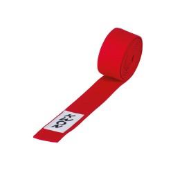 Kwon Budogürtel kurz 4cm rot