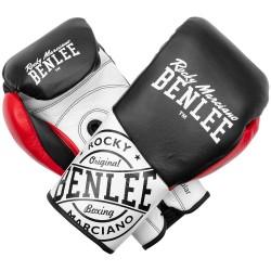 Benlee Cyclone Boxhandschuhe 8oz R Leder Black Red White