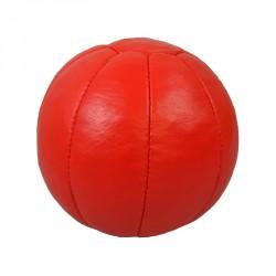 Phoenix Medizinball Echtleder 3Kg Rot
