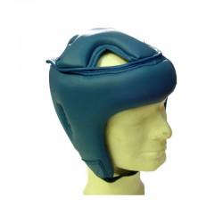 Trainings Kopfschutz Blau Kunstleder