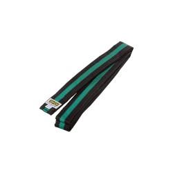 Kwon Clubline Softgürtel 4cm schwarz grün schwarz