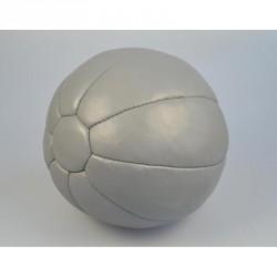 Abverkauf Phoenix Medizinball Echtleder 4Kg Grau