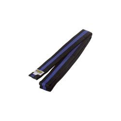 Kwon Clubline Softgürtel 4cm schwarz blau schwarz