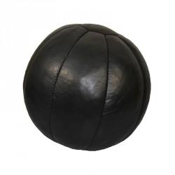 Phoenix Medizinball Echtleder 5Kg Schwarz