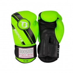 Booster Boxing Gloves BGL 1 V3 Neon Green Leather
