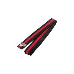 Kwon Clubline Softgürtel 4cm schwarz rot schwarz