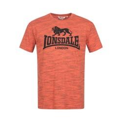 Lonsdale Gargrave Herren T-Shirt Marl Orange