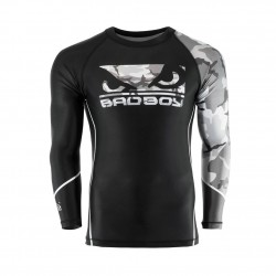 Bad Boy Soldier Rashguard Black Grey