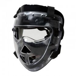 Kopfschutz Schwarz Plexiglasvisier