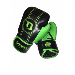 Booster Boxing Gloves BGL 1 V6 Black Green Leather