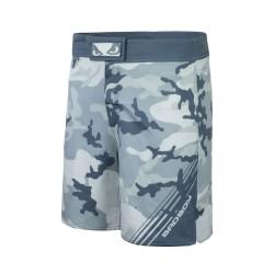 Bad Boy Soldier MMA Shorts Grey