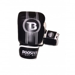Booster Boxing Gloves BGL 1 V6 Black White Leather